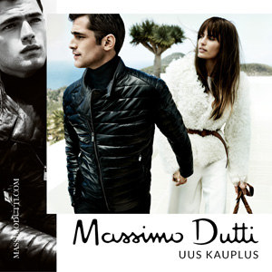 29. oktoobril kell 10.00 avas uksed Massimo Dutti!